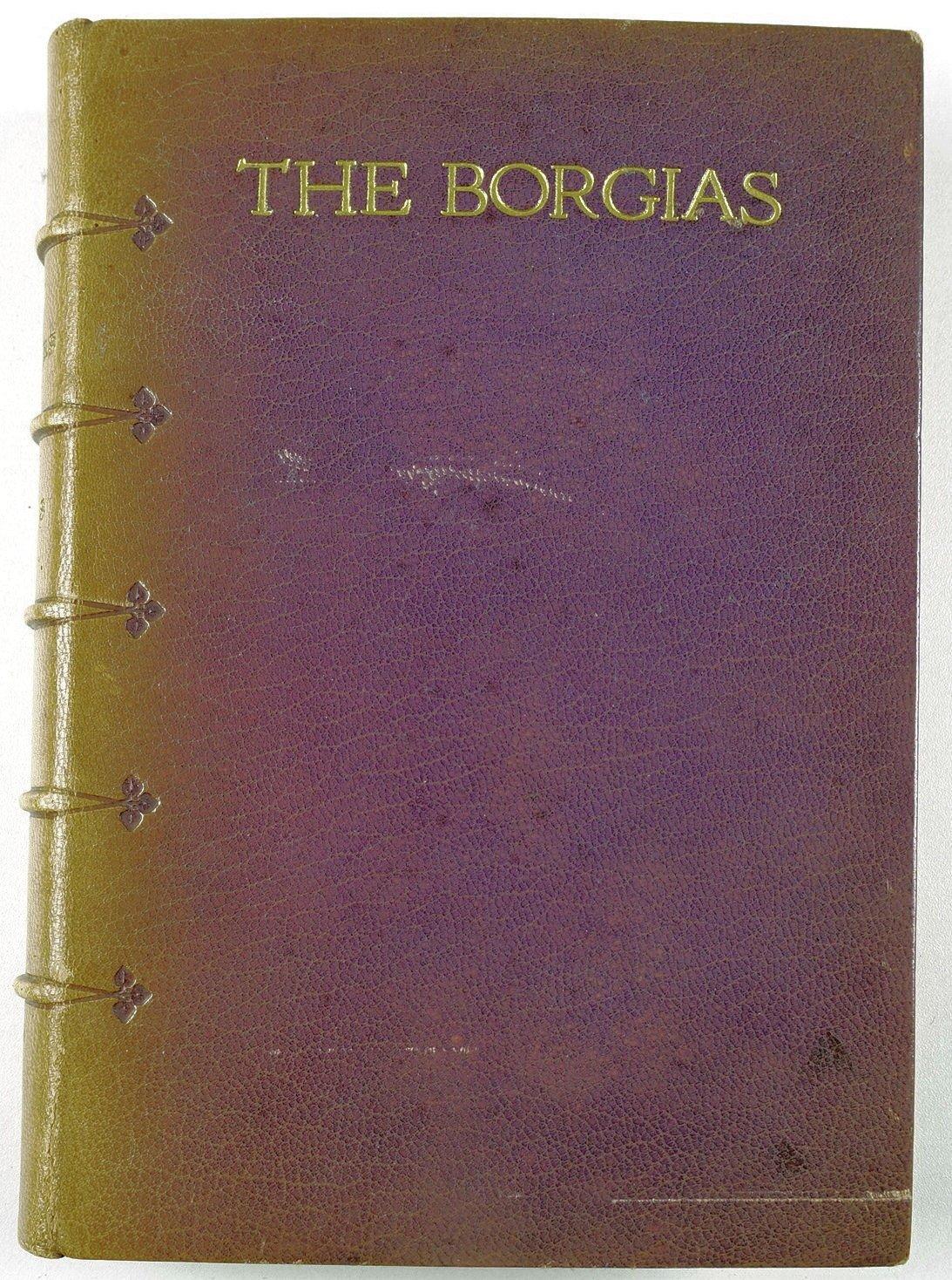 DUMAS, ALEXANDRE - The Borgias [Hatchards Binding]